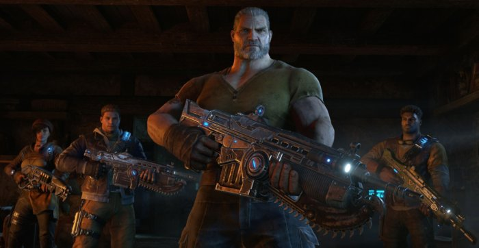 Gears of War 4, Forza Horizon 3, and Halo Wars 2 are all on