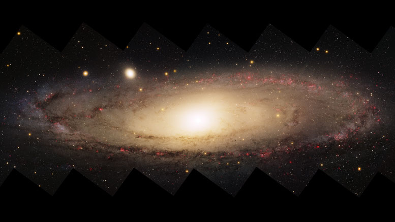 Astronomers Discover White Dwarf Stars in the Disc of the Milky Way