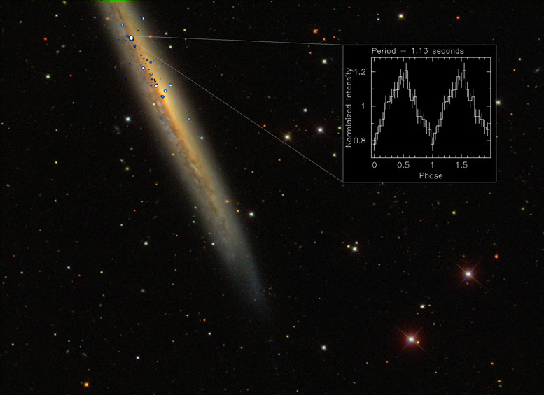 Astronomers Discover the Brightest Pulsar to Date, NGC 5907 ULX